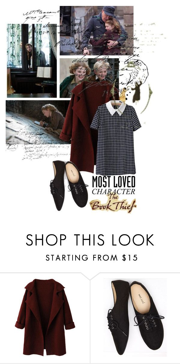 """liesel meminger, the book thief"" by opheliaifeelya ❤ liked on Polyvore featuring WithChic and Wet Seal"