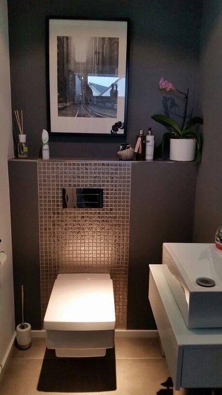 Ideas para Decorar Baños Pequeños con Estilo y Elegancia! Toilet - decoracion baos pequeos
