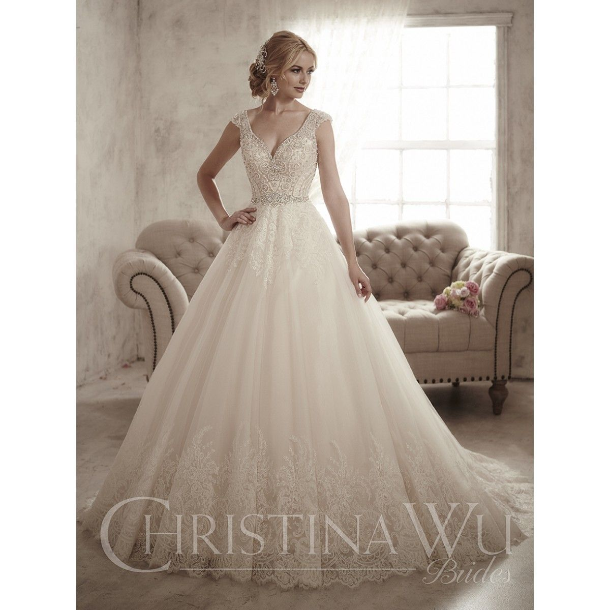 Style 15597 By Christina Wu Find This Pin And More On Wedding Dresses