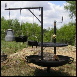 Quot The 36 Campfire Grill Can Handle 20 To 25 Large T Bone