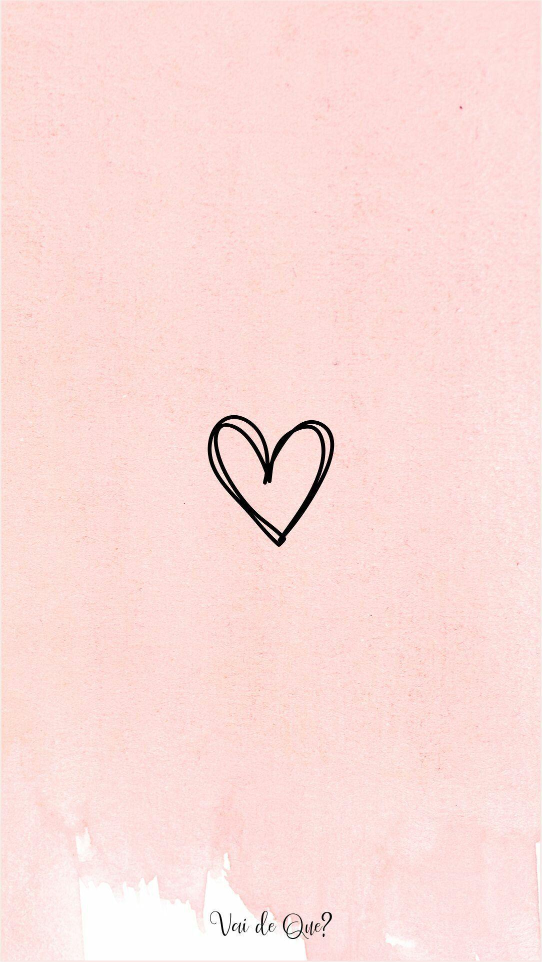 Highlights heart pink Instagram Cute Wallpaper For Phone