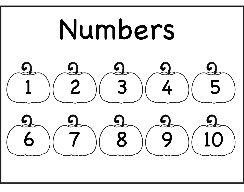 Traceable Number 1-10 For Numbering Lesson | Dear Joya | Kids ...