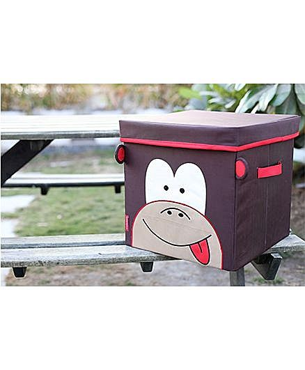 My Gift Booth Lidded Storage Stool Cum Box Monkey Design - Brown http://www.firstcry.com/my-gift-booth/my-gift-booth-lidded-storage-stool-cum-box-monkey-design-brown/846277/product-detail