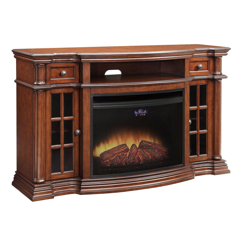 Matthews Entertainment Fireplace Fireplace Media Console