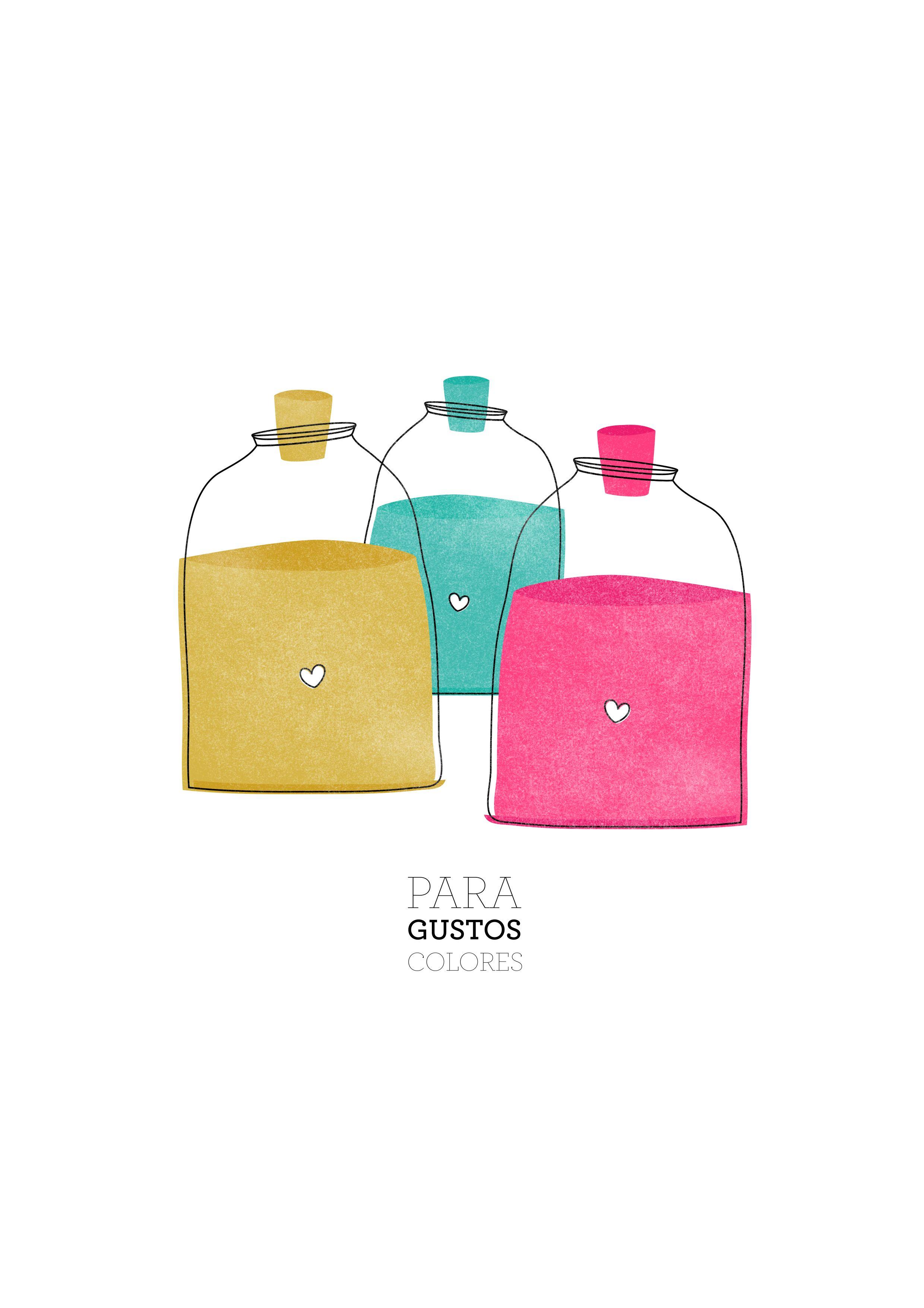 Para gustos colores! Ilustración
