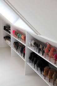 Image Result For Angular Shoe Rack To Fit In Eaves Attic Design Loft Room Attic Storage