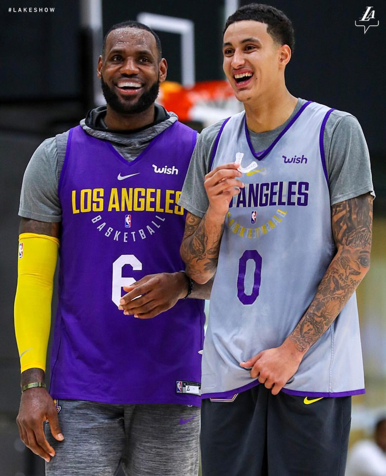 8eb1cbf2685 LeBron James and Kyle Kuzma