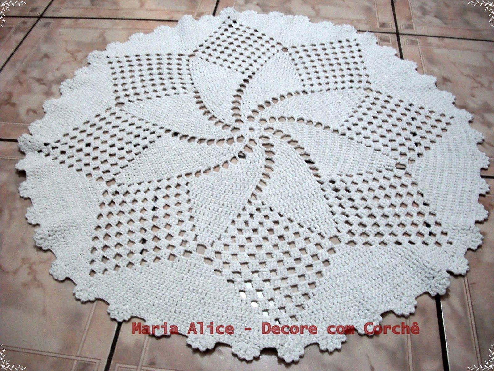 Arte Em Croch Tapetes De Barbante Andreia Pinterest Tapete  -> Tapete Para Sala De Barbante Redondo