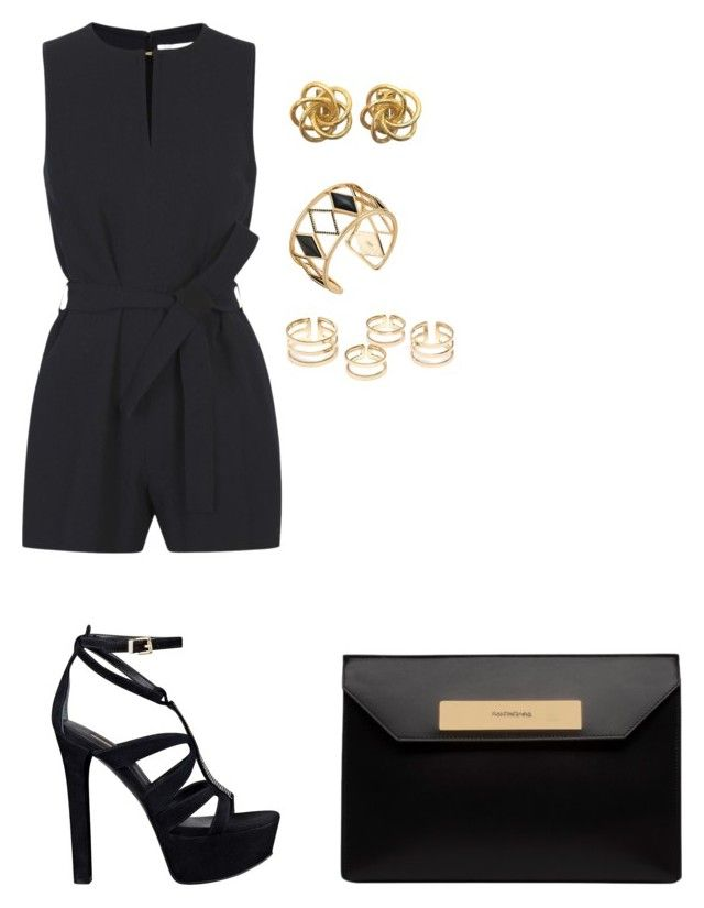 """Sin título #1371"" by danareyesguido on Polyvore featuring moda, Victoria, Victoria Beckham, GUESS, Balenciaga, Rebecca Minkoff, women's clothing, women, female, woman y misses"