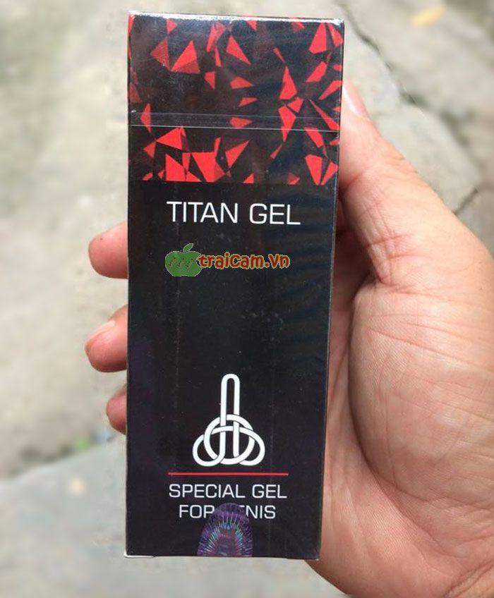 gel titan làm to dương vật hiệu quả