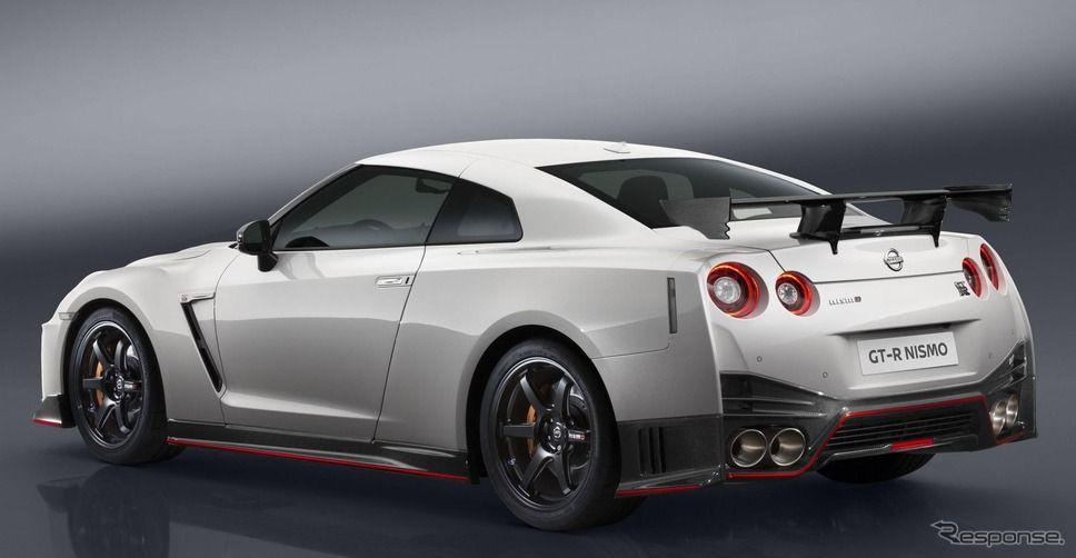 日産 GT-R NISMO に2017年型…空力性能を向上