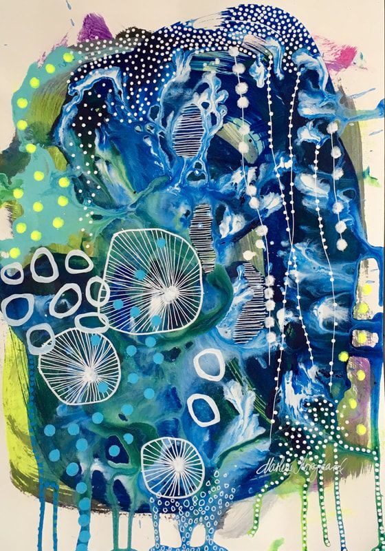 Billede Abstract Art Inspiration Abstract Art Painting Abstract Art
