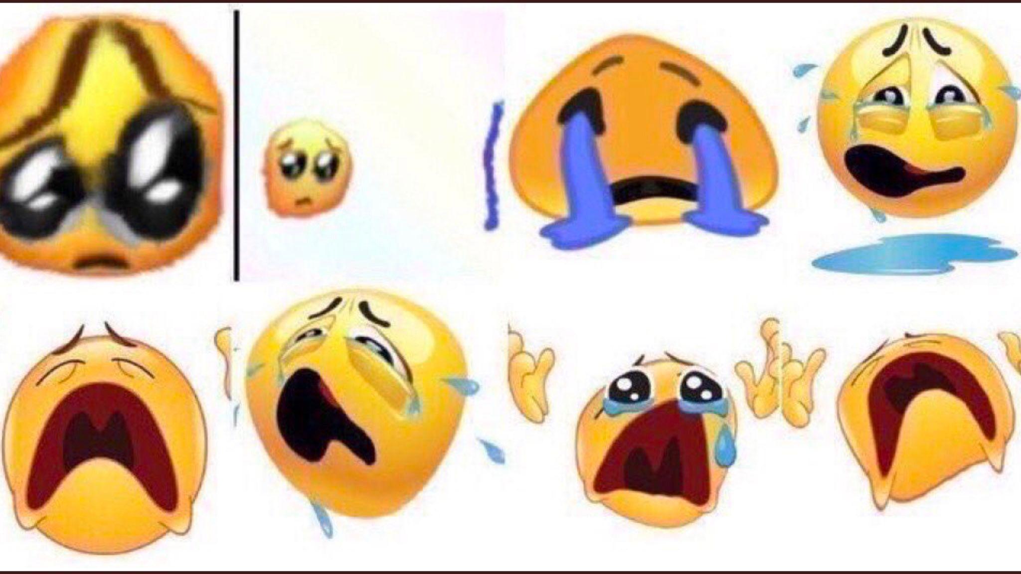 Pin by Erica on ♡ memes ♡ Crying emoji, Emoji meme, Emoji
