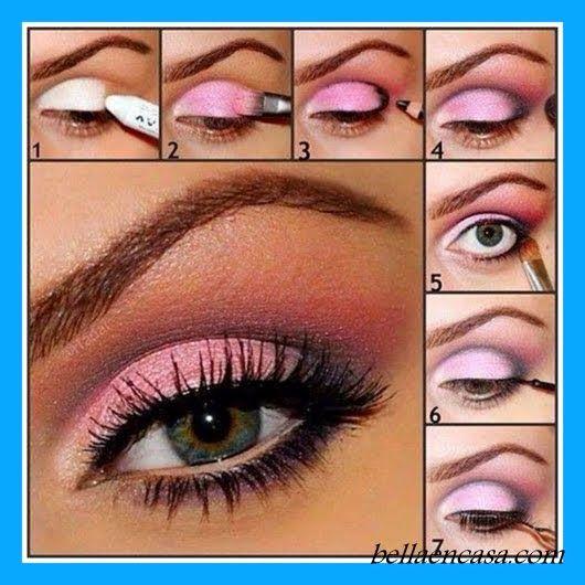 Maquillajes de ojos para fiesta paso a paso maquillate - Como maquillarse paso a paso ...