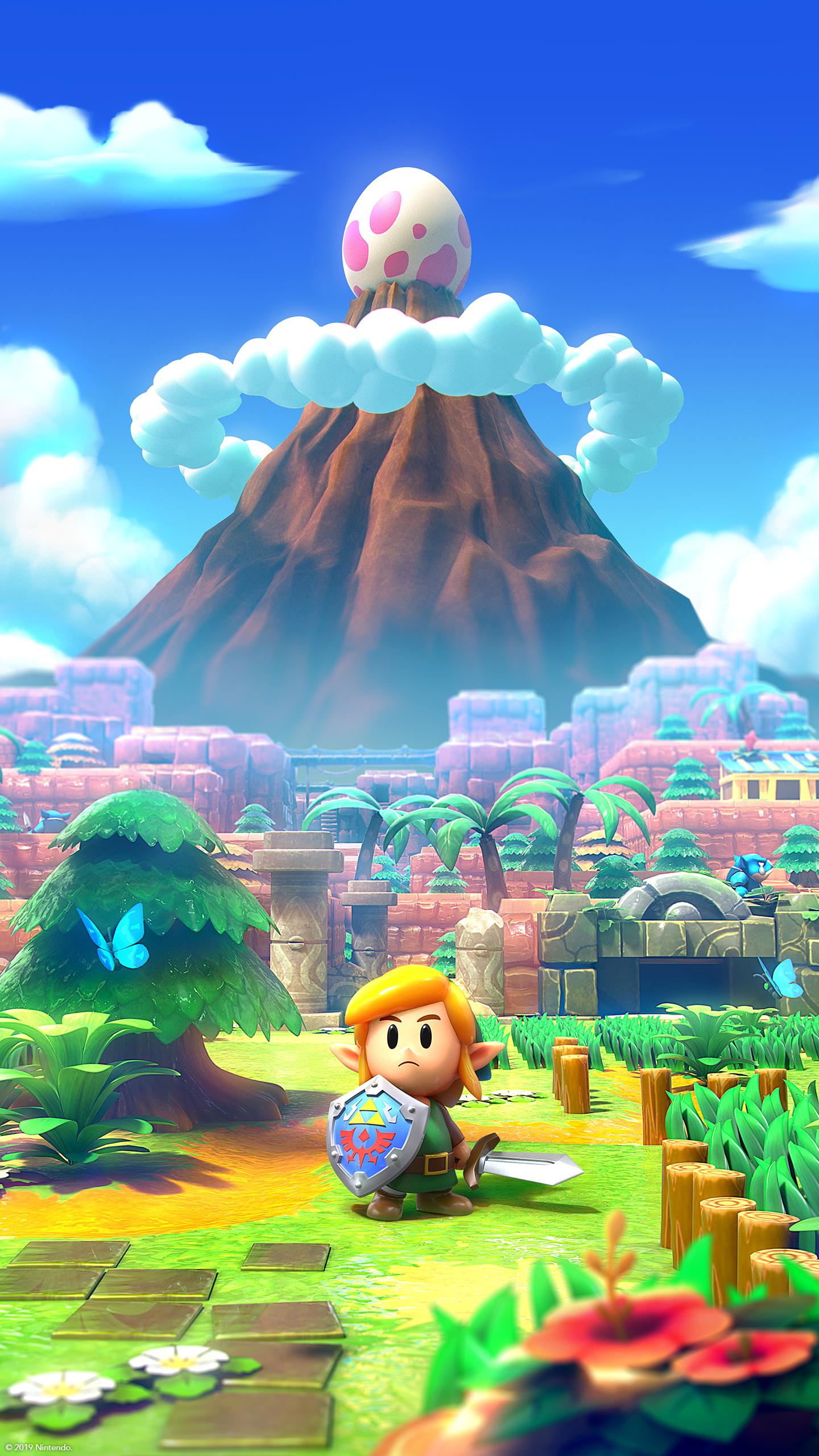Zelda Link S Awakening Phone Wallpaper Legend Of Zelda Zelda Art Wallpaper