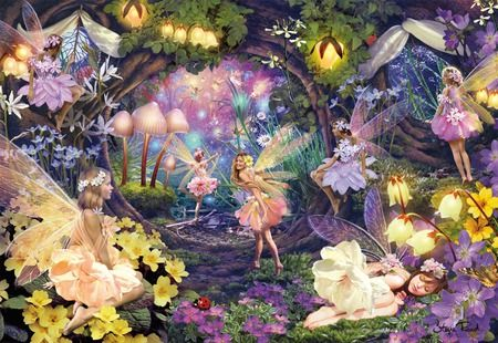 In My Fairy Garden Fantasy Amp Abstract Background Wallpapers