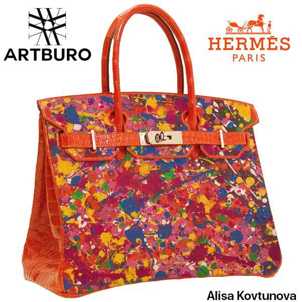 Artburo Hermes Alisa Kovtunova Www Artburo Com Artburo Hermes Birkin Crocodile Handpainted Luxury Fashio Chanel Bag Chanel Handbags Hermes Handbags