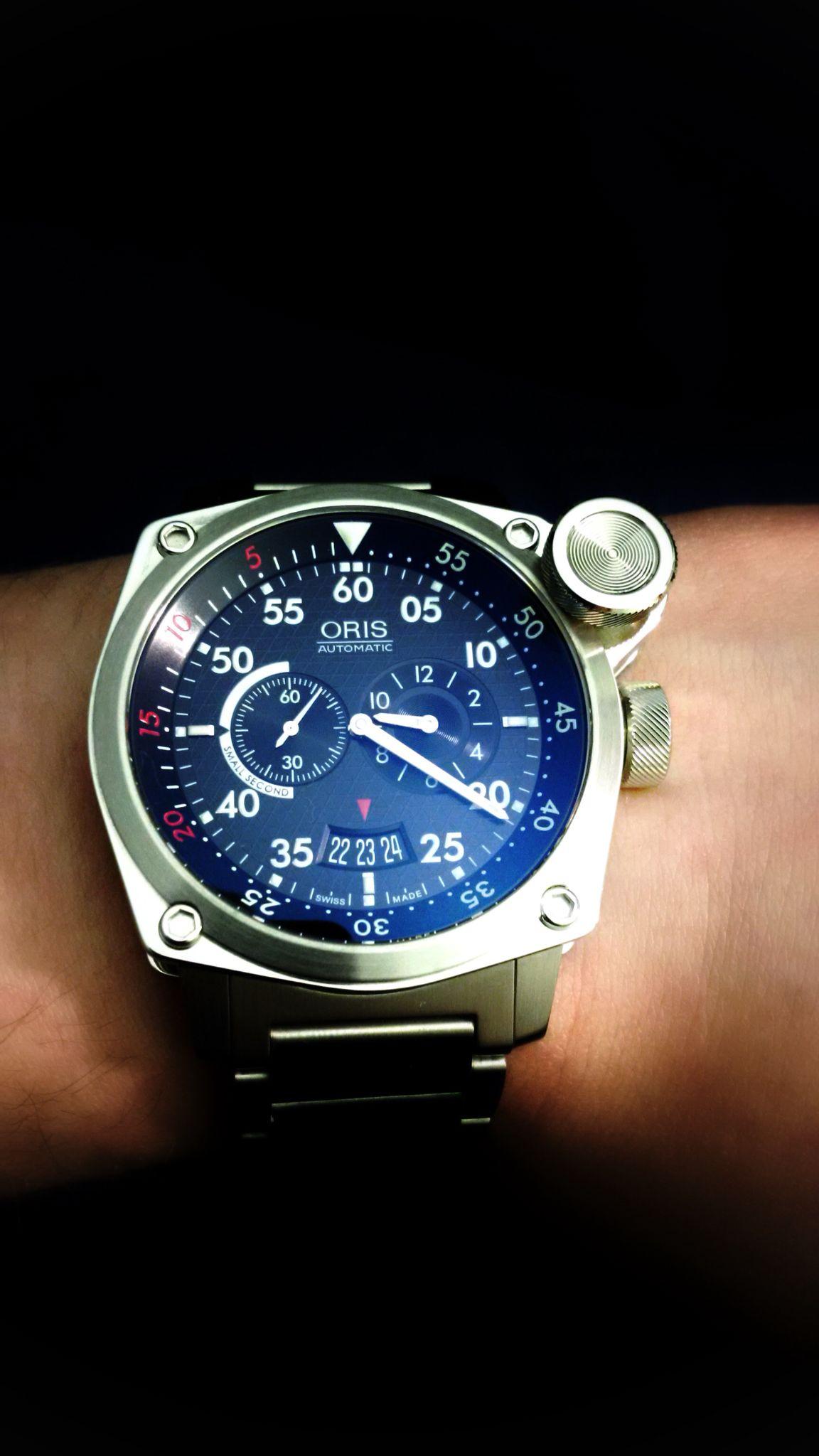 Oris BC4 Der Meisterflieger Men's watch