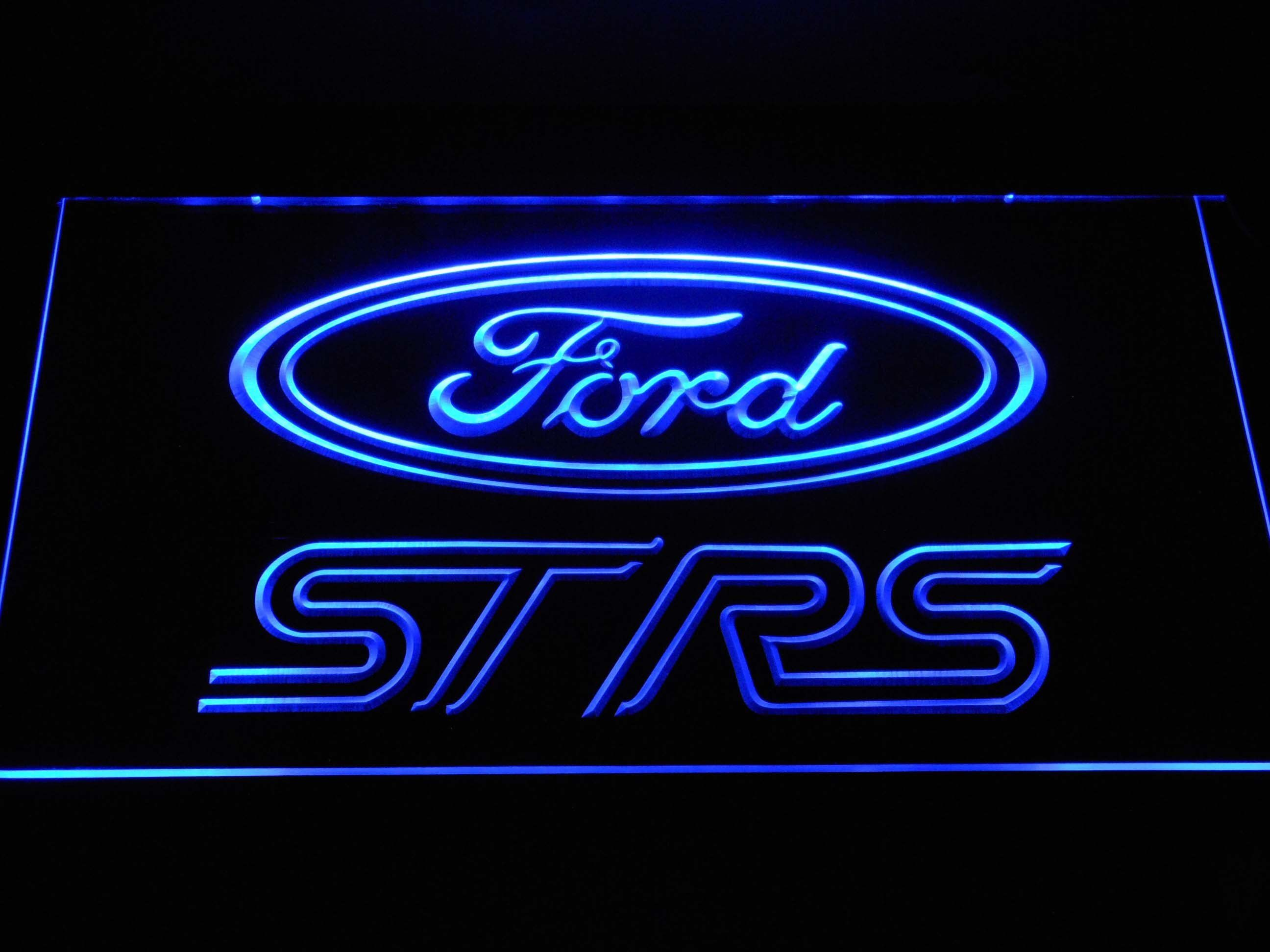 Ford ST/RS Logo LED Neon Sign   Led neon signs, Neon signs ...