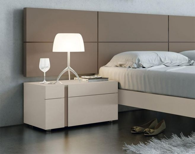Garcia Sabate Contemporary Boss 2 Drawer Bedside Cabinet in Various ...