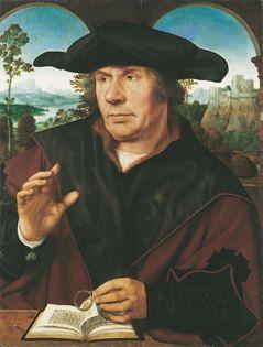 Quentin Massys, Bildnis eines Gelehrten (Antwerpen, Städel, Frankfurt)