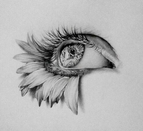 Creative drawings of eyes images for Simple creative art drawings