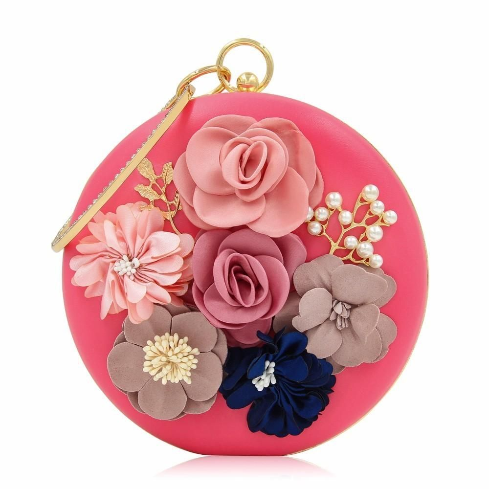 1a69a2ebfebc Milisente 2018 New Women Evening Clutches Bags Ladies Flower in 2019 ...