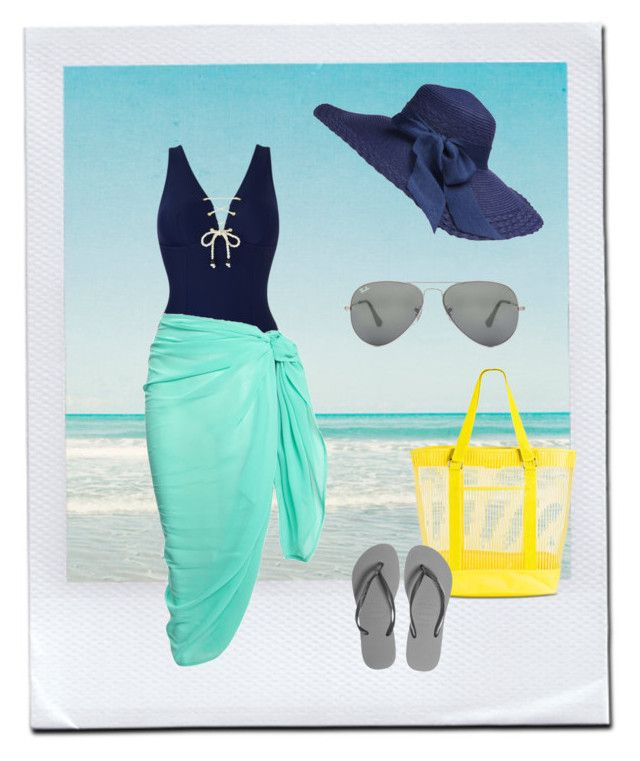 """Beach Day"" by smontoya2012 on Polyvore"