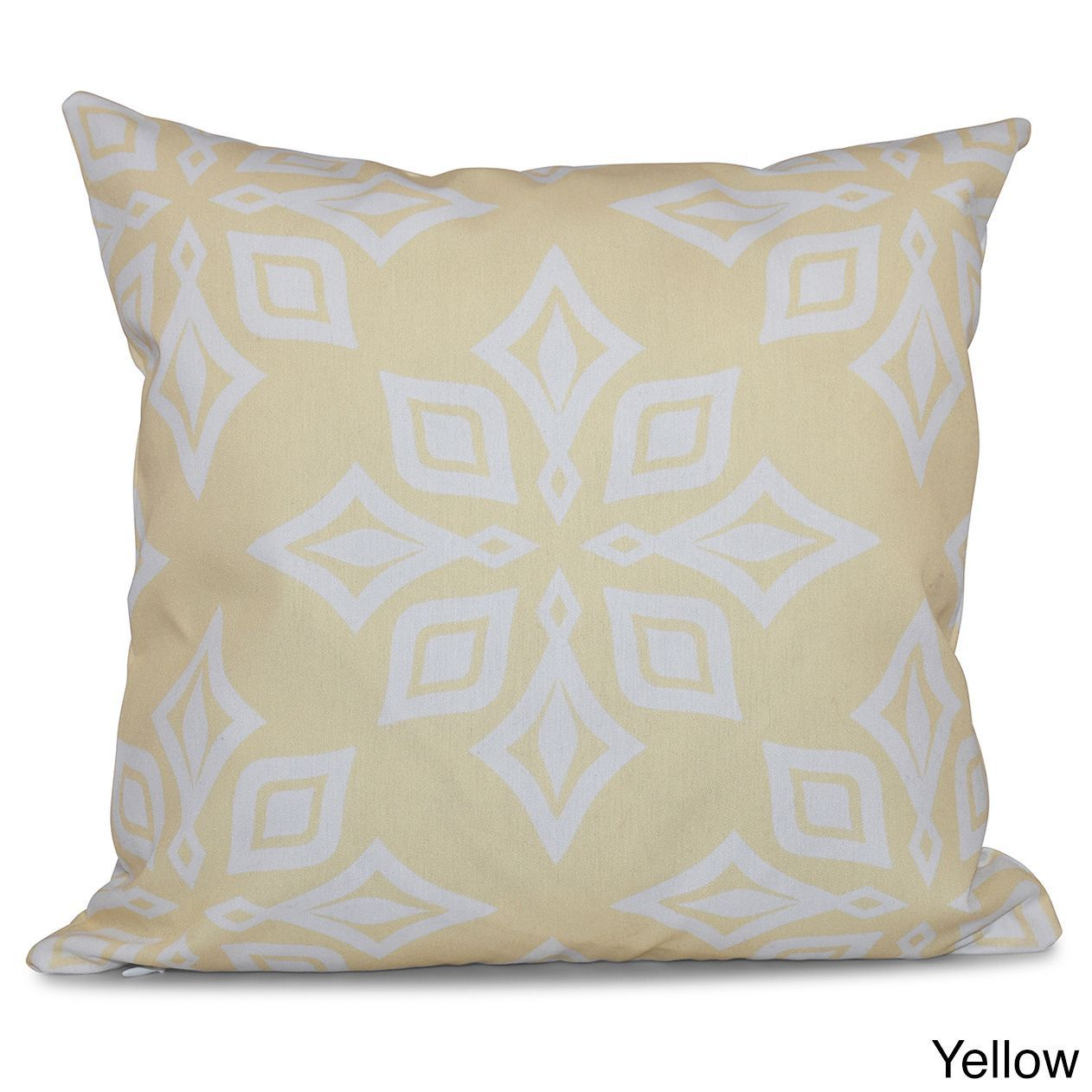 E by design beach star geometric print inch throw pillow