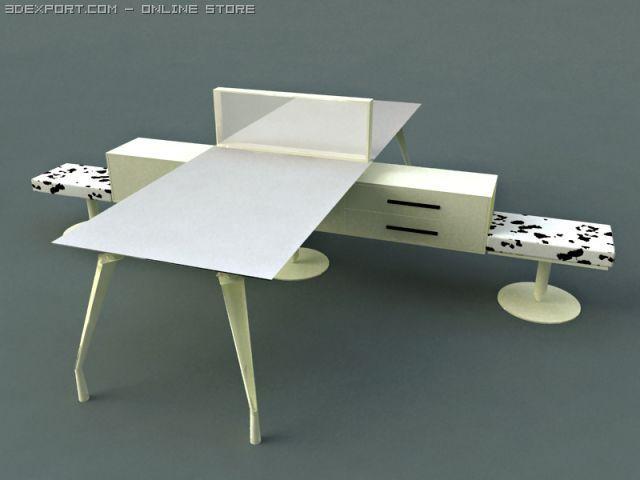 Faram Arredamenti Per Ufficio.3d Model Faram Office Furniture 2 C4d Obj 3ds Fbx Ma Lwo 23594