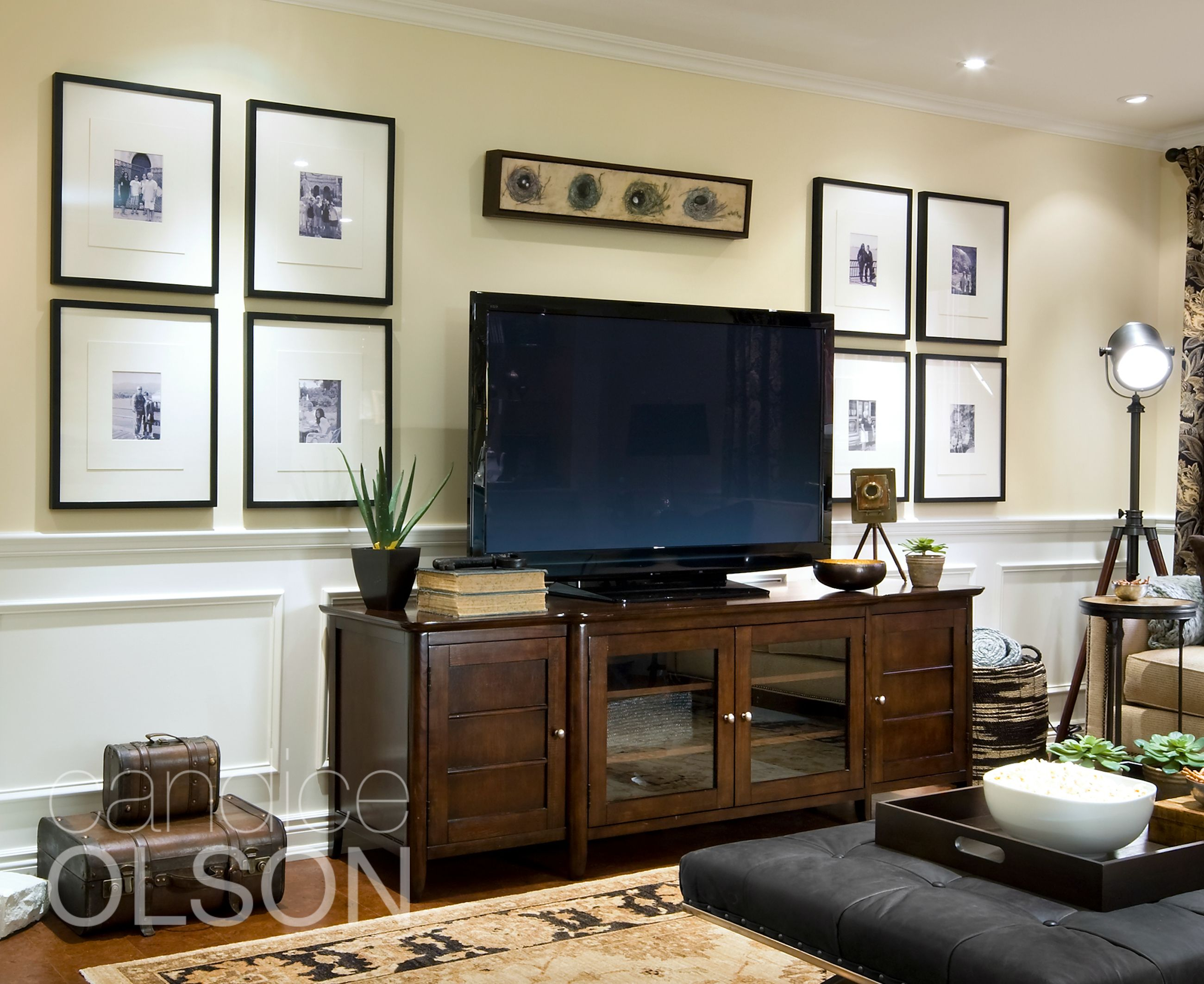 Looking for a solution for hanging pictures on your tv - Emission de decoration tv ...