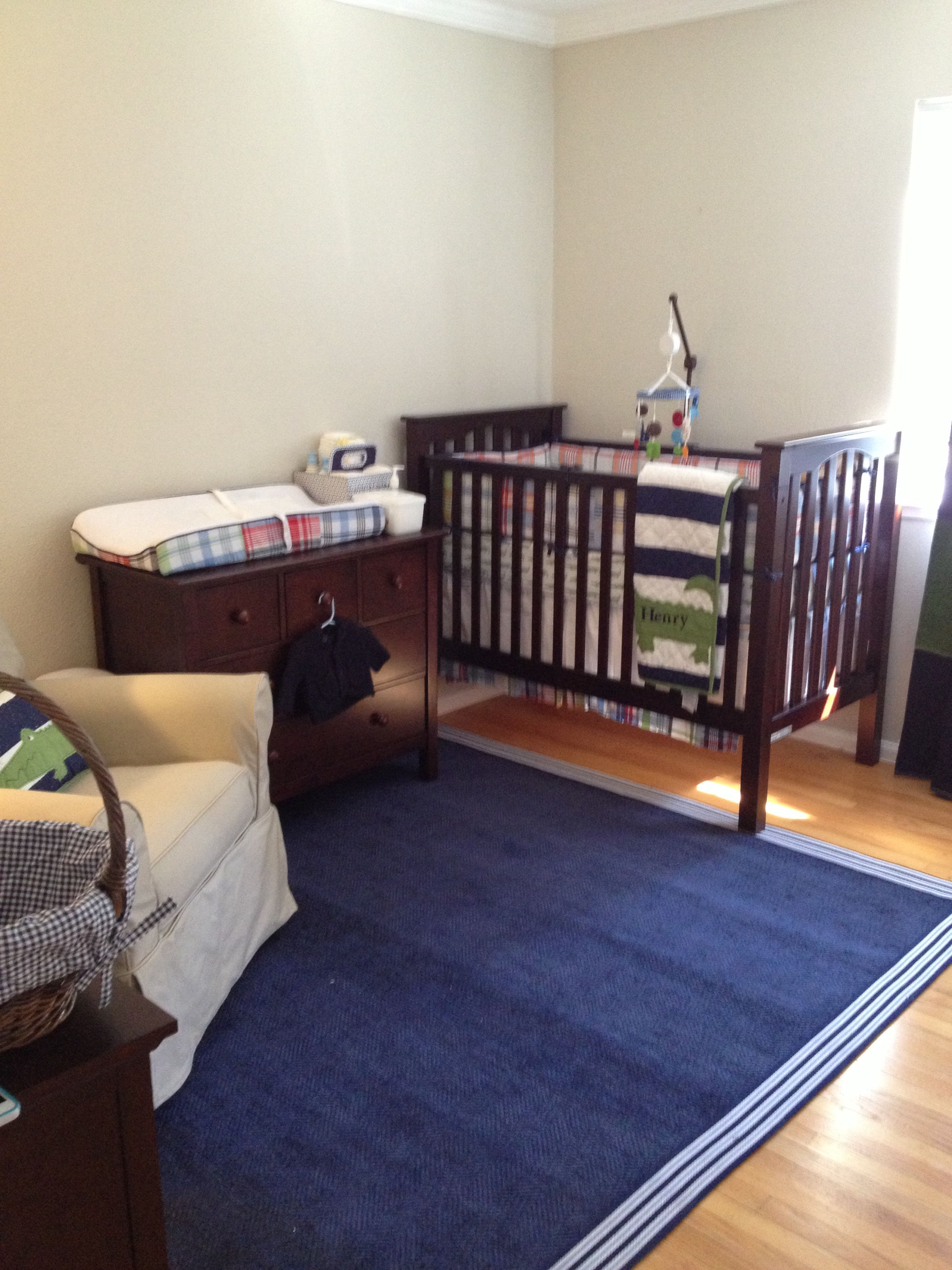 Baby Boy Nursery In East Bay