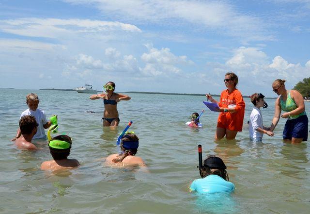9 Fun Things to Do on Sanibel & Captiva Islands with Kids: Enroll in Sea School
