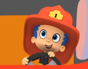 Firefighter Gil To The Rescue Images Firefighter Guppy Bubble Guppies