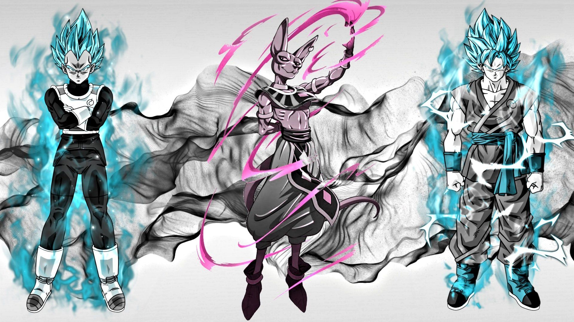 Goku Ssgss Wallpaper Alta Definicao Papeis De Parede Bonitos Alta Resolucao Qualida Dragon Ball Super Wallpapers Dragon Ball Wallpapers Dragon Ball Super Manga