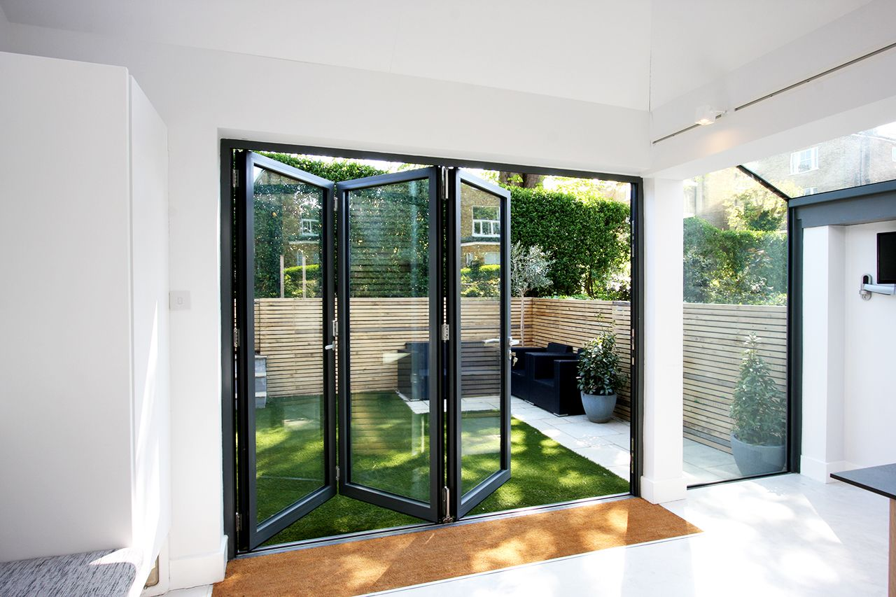 Schuco 3 Leaf Bifold Doors Renovations Pinterest Doors Upvc