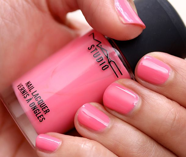 MAC Studio Nail Lacquer in Instant Crush Swatch   SS 14 cosmetics ...