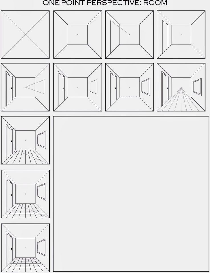 1 Pt Perspective Worksheet Google Search Art Project Ideas