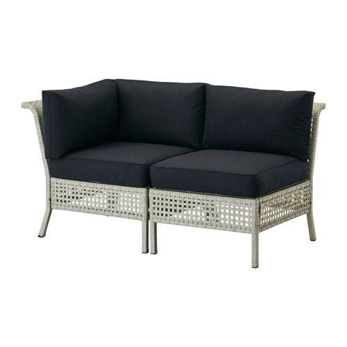 KUNGSHOLMEN / KUNGSÖ 2-pers. sofa, ude IKEA