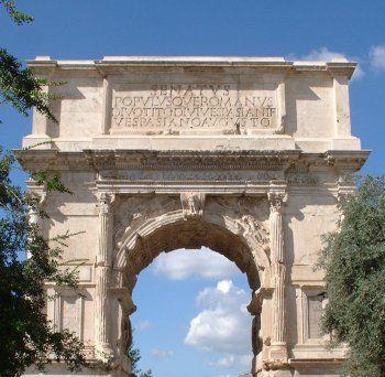 Historia Del Arte Etruria Roma Y El Arte Paleocristiano Arch Of Titus Roman History Christian Art
