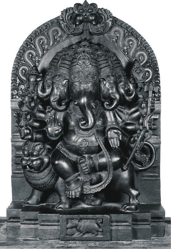 Heramba Panchamukha Ganesha Used As An Epithet Of Ganesha In The Ganesha Purana 3 The Brahma Vaivarta Purana Explains Ganesha Art Ganesh Art Ganesh Statue
