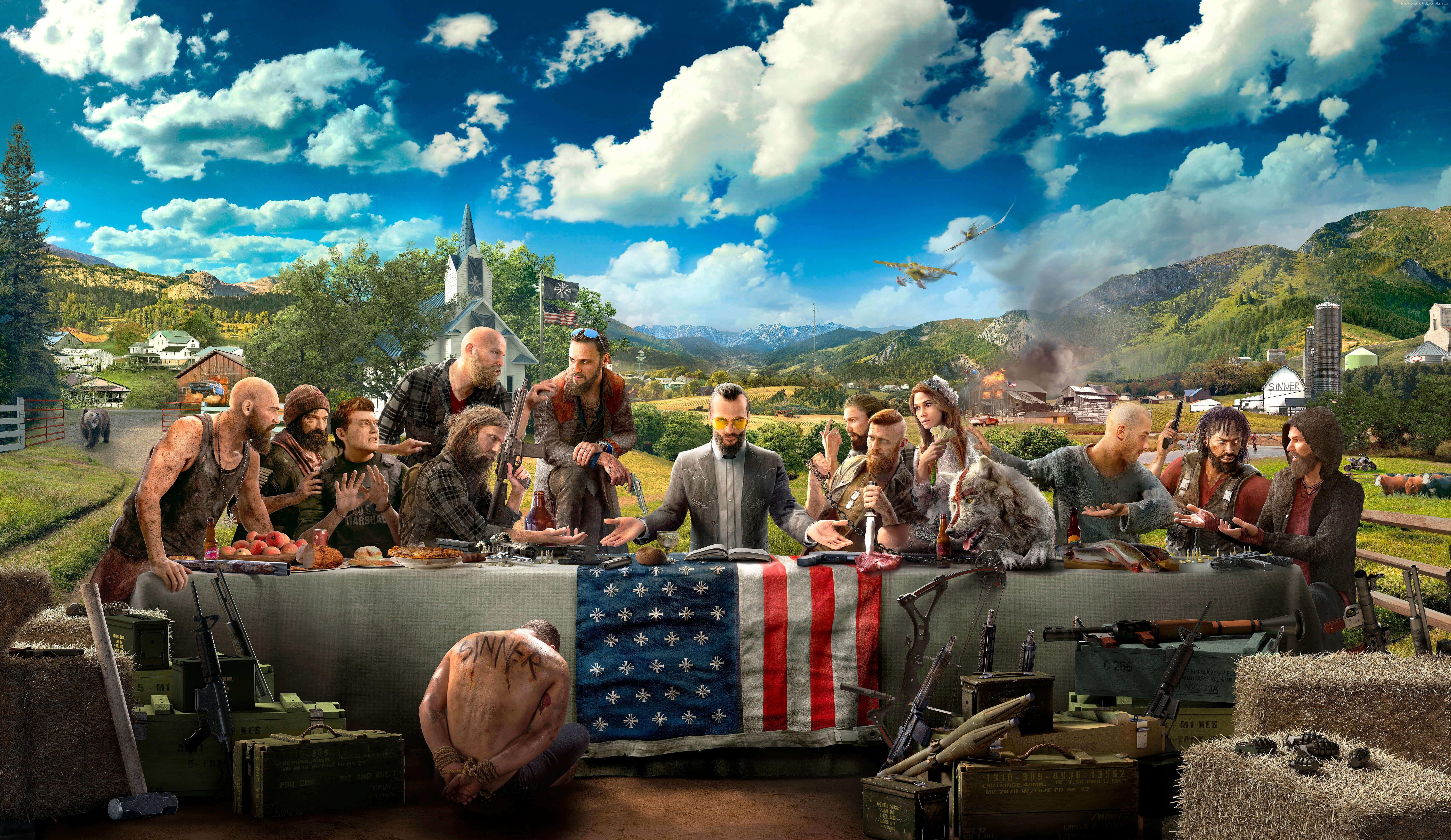 E3 2017 Hd 4k Far Cry 5 5k Wallpaper Hdwallpaper Desktop In 2020 Samsung Wallpaper Far Cry 5 Wallpaper Downloads