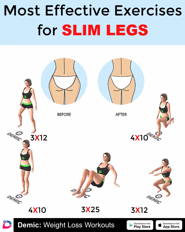 Workout For Slim Legs