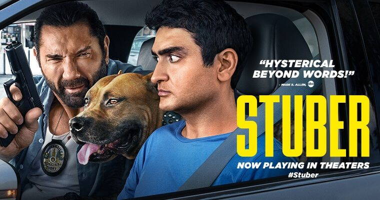 Film review stuber 2019 moviebabble movies full