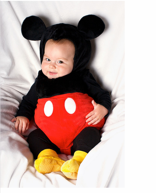 Mickey Mouse costume! Perfect for my daughter who loves Mickey Mouse