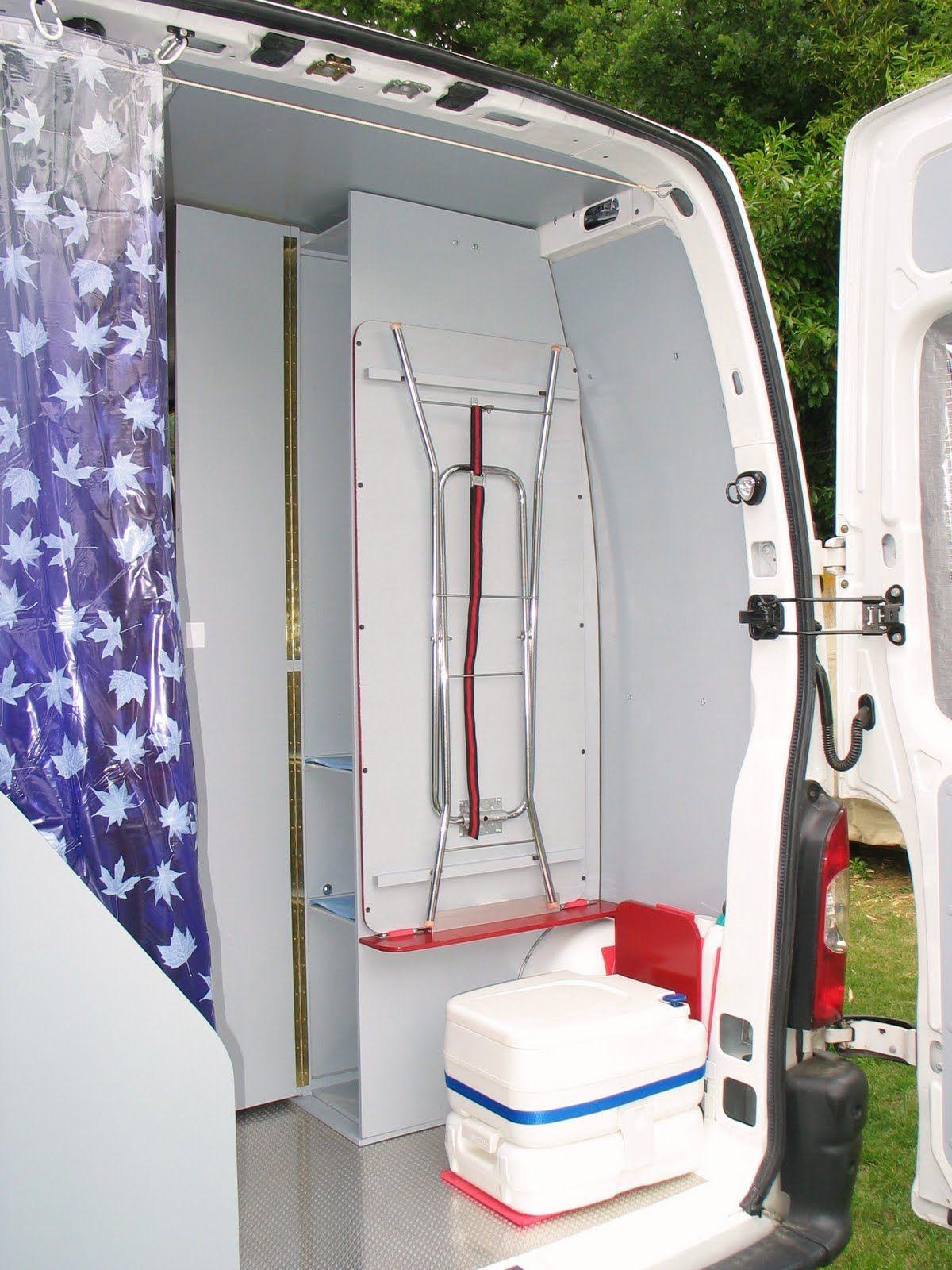 Les WC - Aménager un camping car en conservant l\'utilitaire