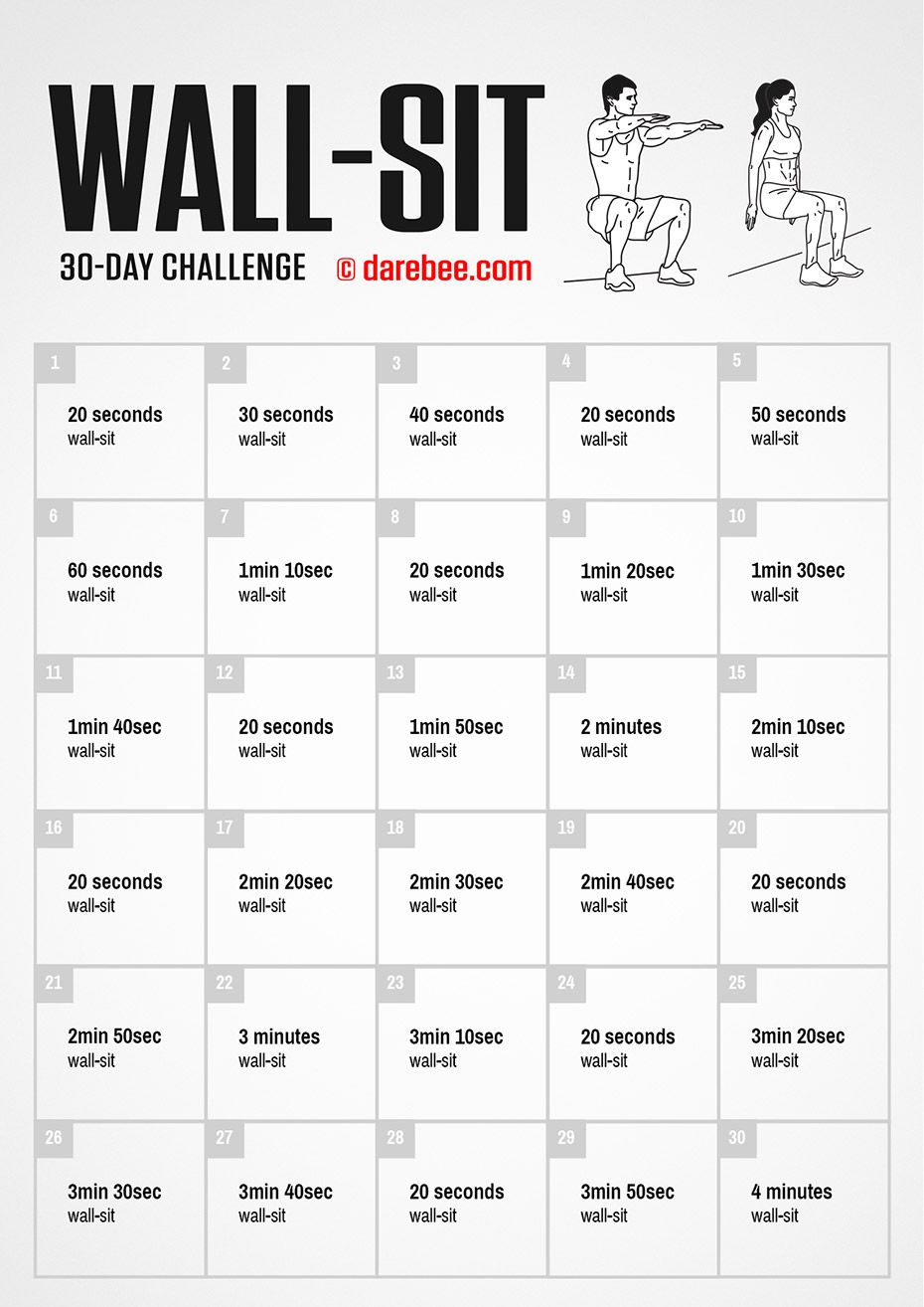 30 Day Challenge By Darebee Workout At Work Office Exercise Office Workout Challenge