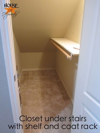Finally An Official Coat Closet Closet Under Stairs