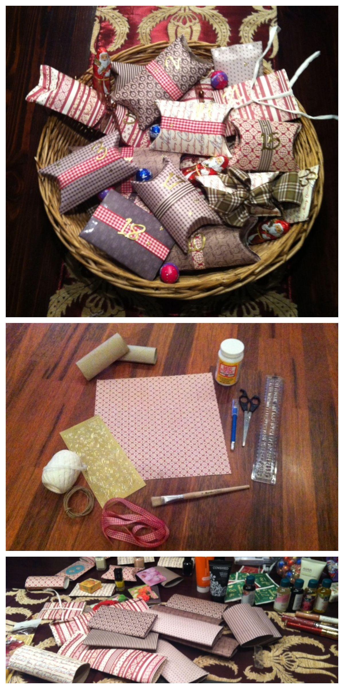 Adventskalender: DIY Verpackungsidee | basteln | Pinterest ...