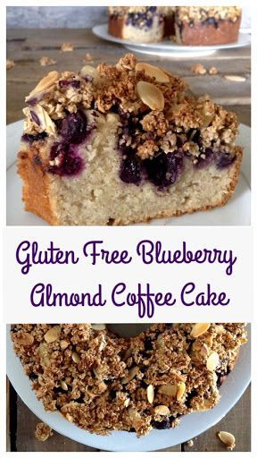 Free Blueberry Almond Coffee Cake Gluten Free Blueberry Almond Coffee Cake - Dinner Was DelishGluten Free Blueberry Almond Coffee Cake - Dinner Was Delish